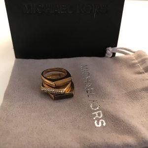 Micheal Kors Stackable Rings